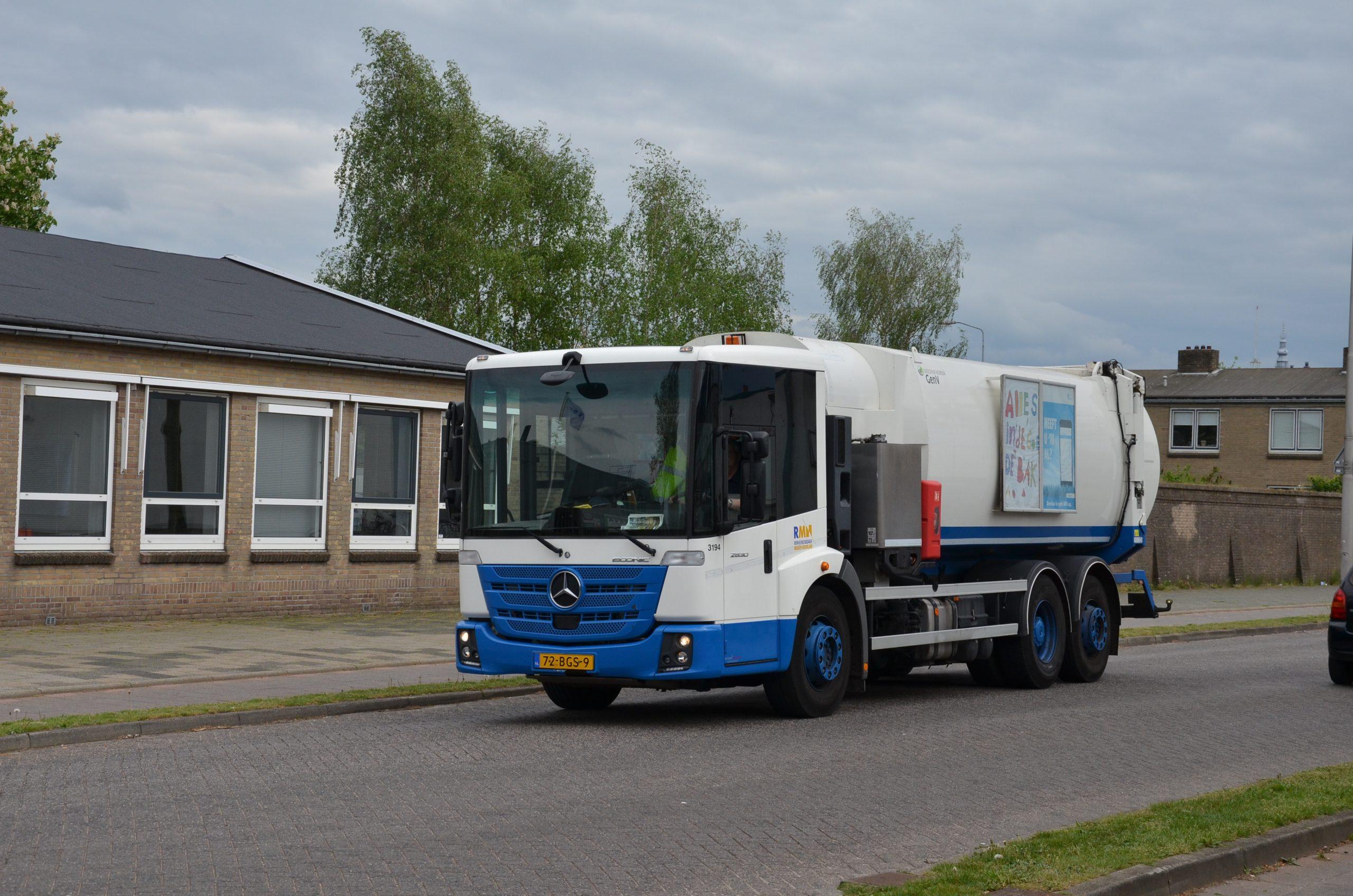 Biogas voertuig